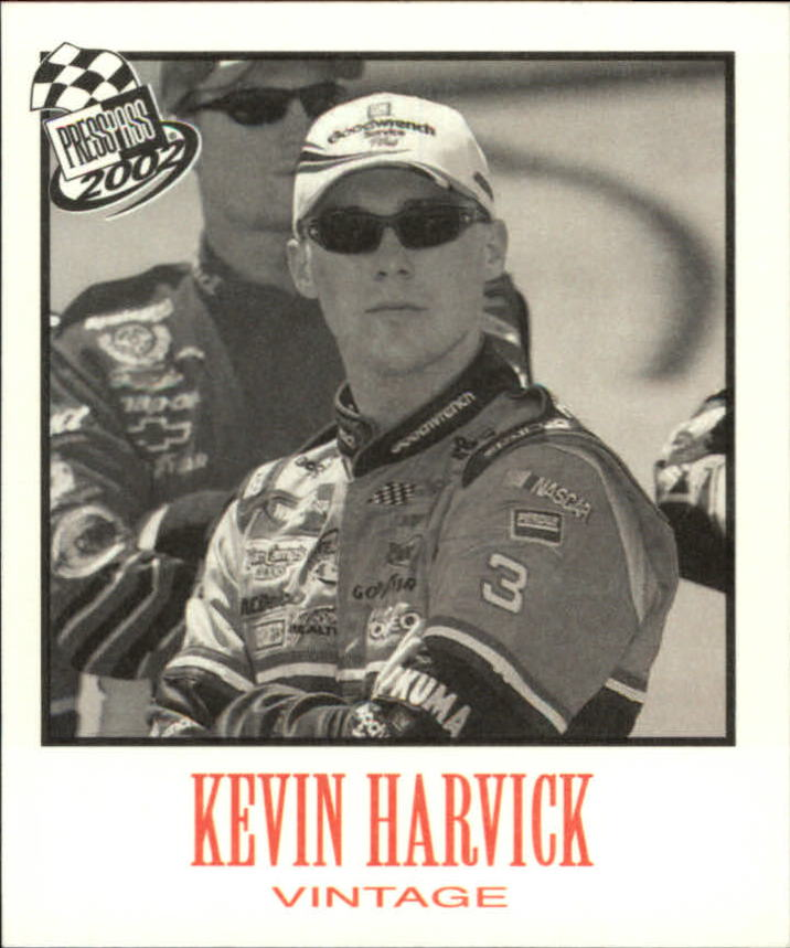 2002 Press Pass Vintage #VN9 Kevin Harvick