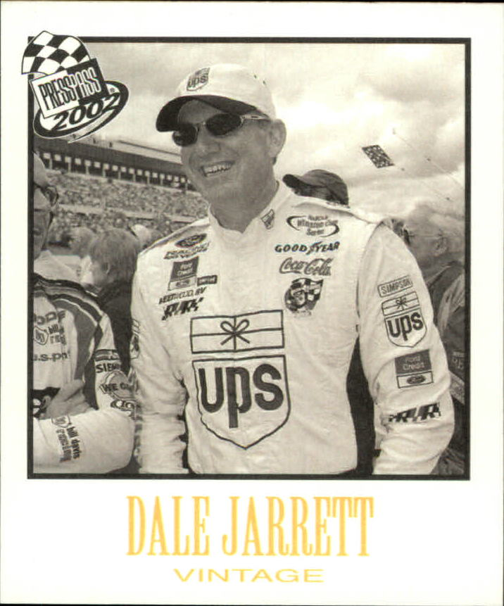 2002 Press Pass Vintage #VN10 Dale Jarrett