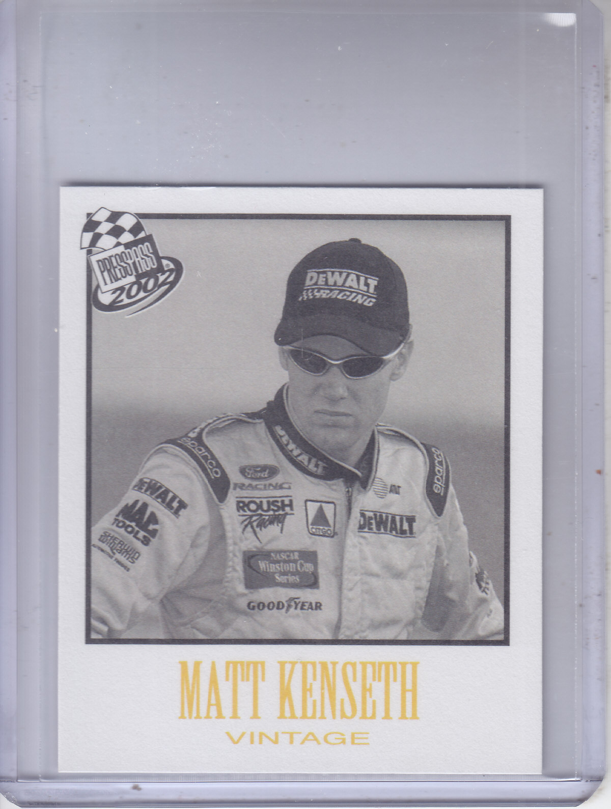 2002 Press Pass Vintage #VN11 Matt Kenseth