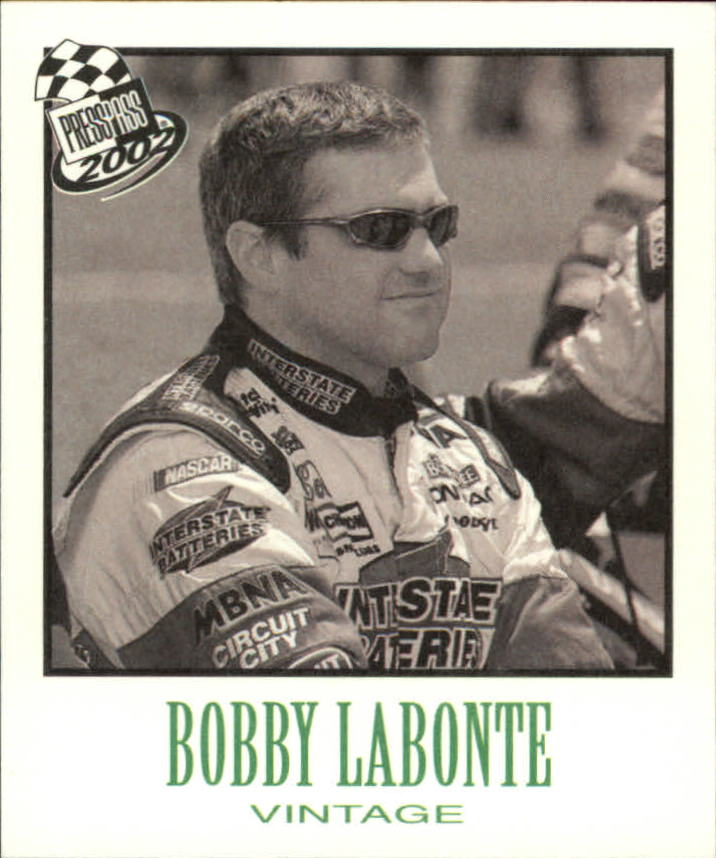 2002 Press Pass Vintage #VN12 Bobby Labonte