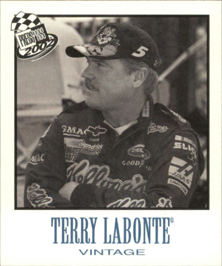 2002 Press Pass Vintage #VN13 Terry Labonte