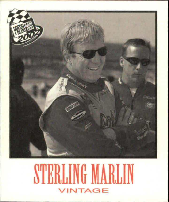 2002 Press Pass Vintage #VN14 Sterling Marlin