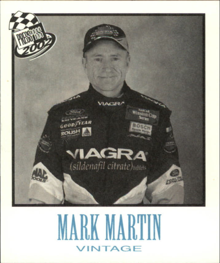 2002 Press Pass Vintage #VN15 Mark Martin