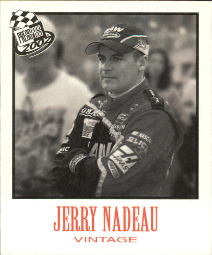 2002 Press Pass Vintage #VN16 Jerry Nadeau