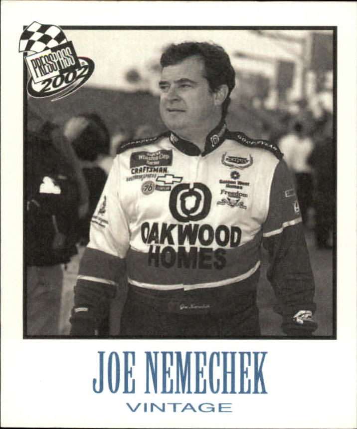 2002 Press Pass Vintage #VN17 Joe Nemechek
