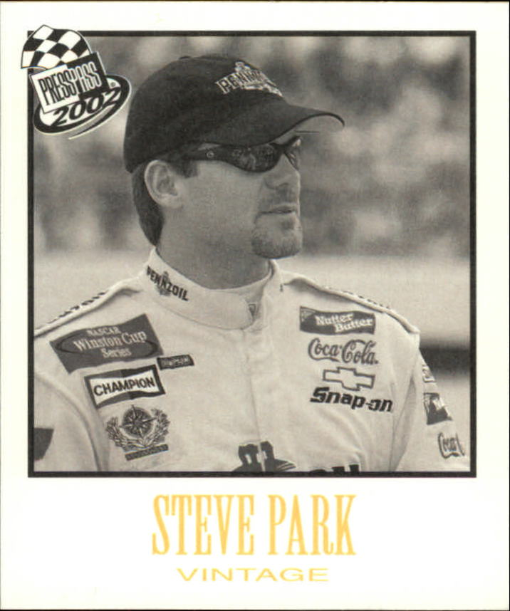2002 Press Pass Vintage #VN18 Steve Park