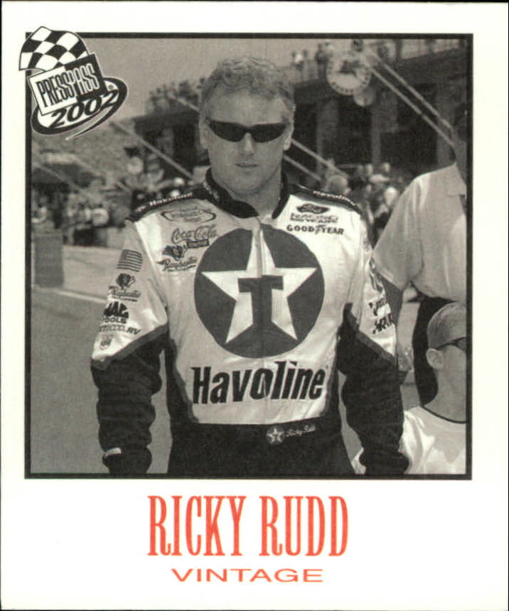 2002 Press Pass Vintage #VN19 Ricky Rudd