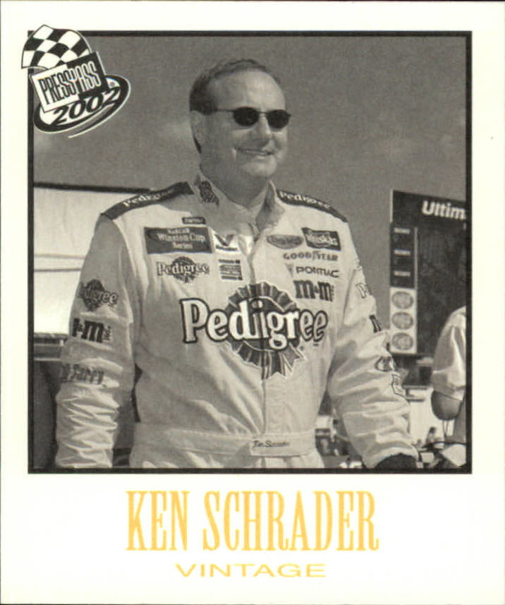 2002 Press Pass Vintage #VN21 Ken Schrader