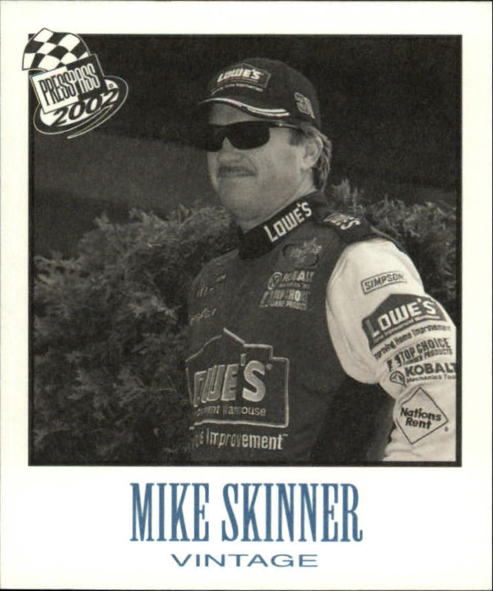 2002 Press Pass Vintage #VN22 Mike Skinner