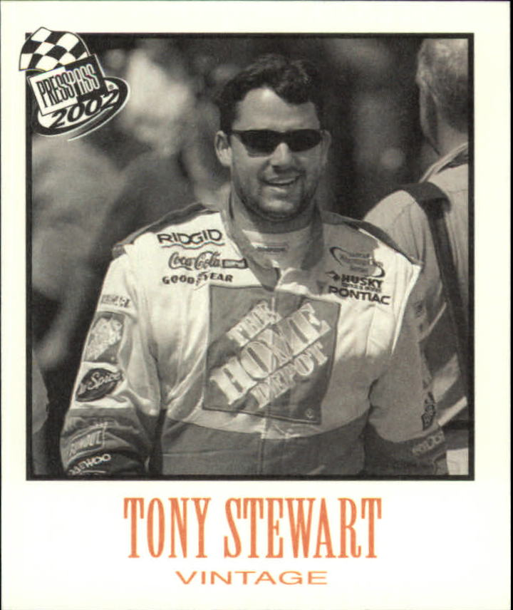 2002 Press Pass Vintage #VN24 Tony Stewart