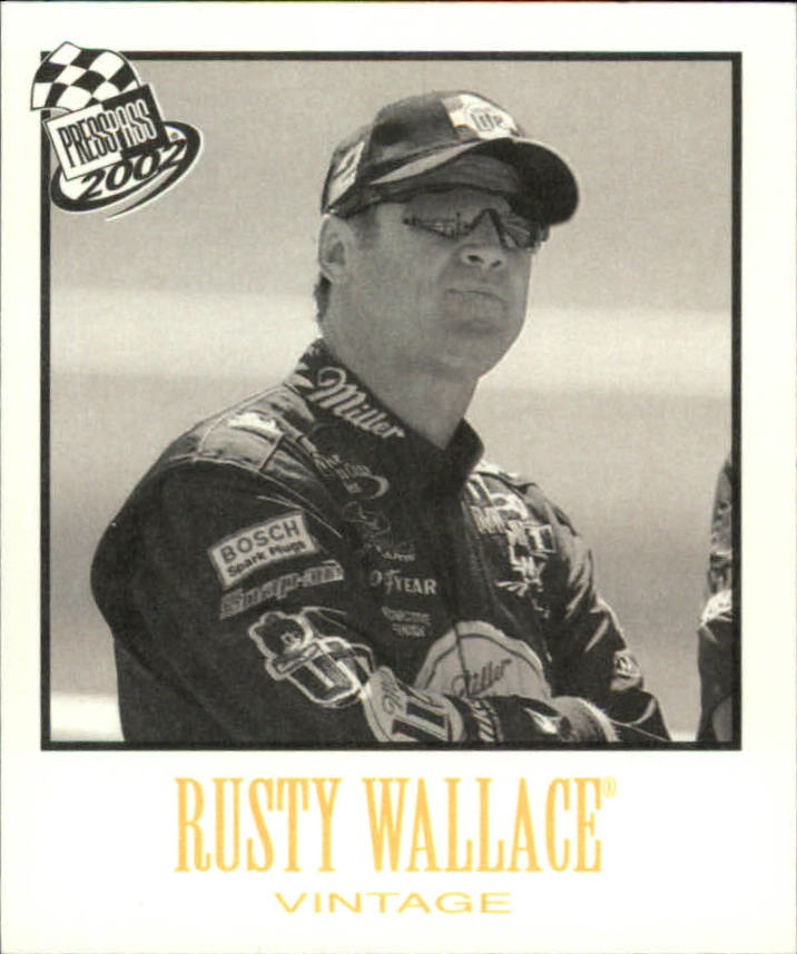 2002 Press Pass Vintage #VN25 Rusty Wallace