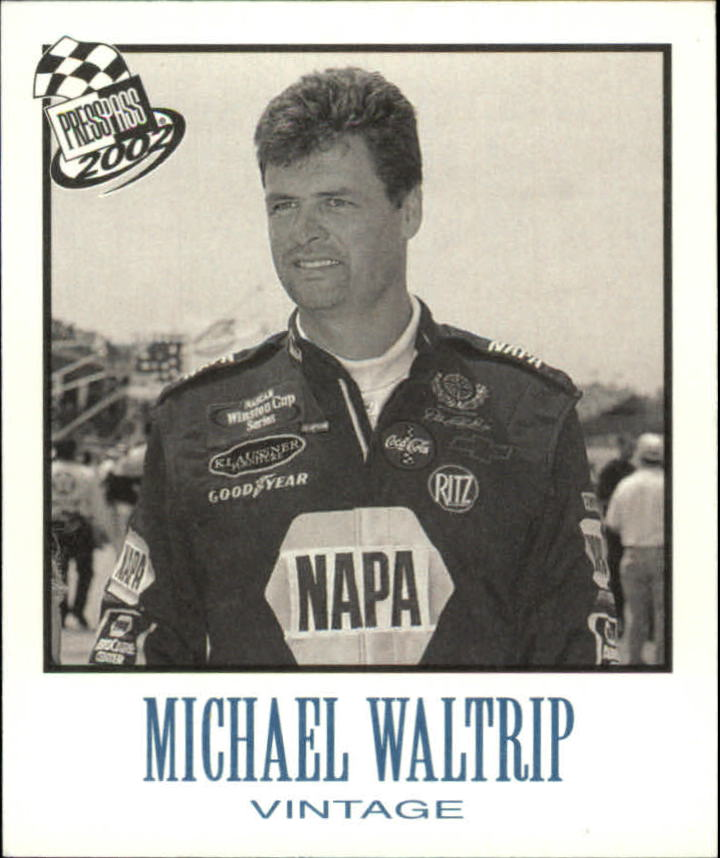 2002 Press Pass Vintage #VN26 Michael Waltrip