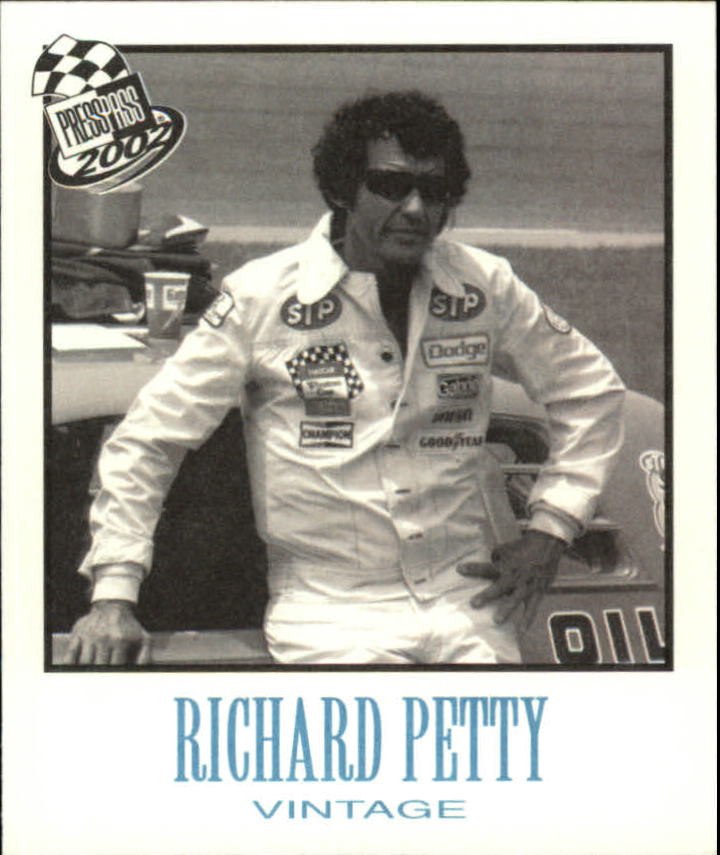 2002 Press Pass Vintage #VN27 Richard Petty