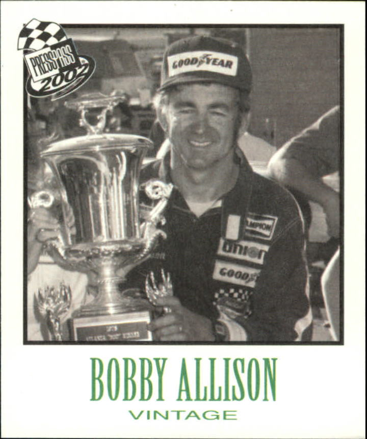 2002 Press Pass Vintage #VN28 Bobby Allison