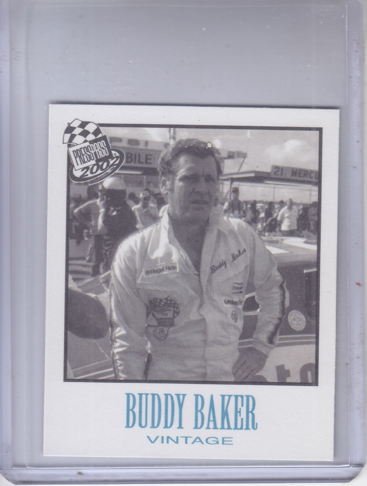 2002 Press Pass Vintage #VN29 Buddy Baker