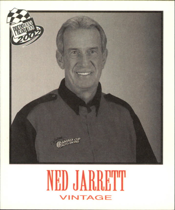 2002 Press Pass Vintage #VN30 Ned Jarrett