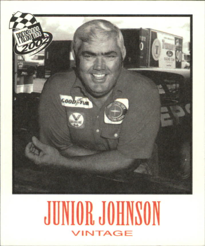 2002 Press Pass Vintage #VN31 Junior Johnson