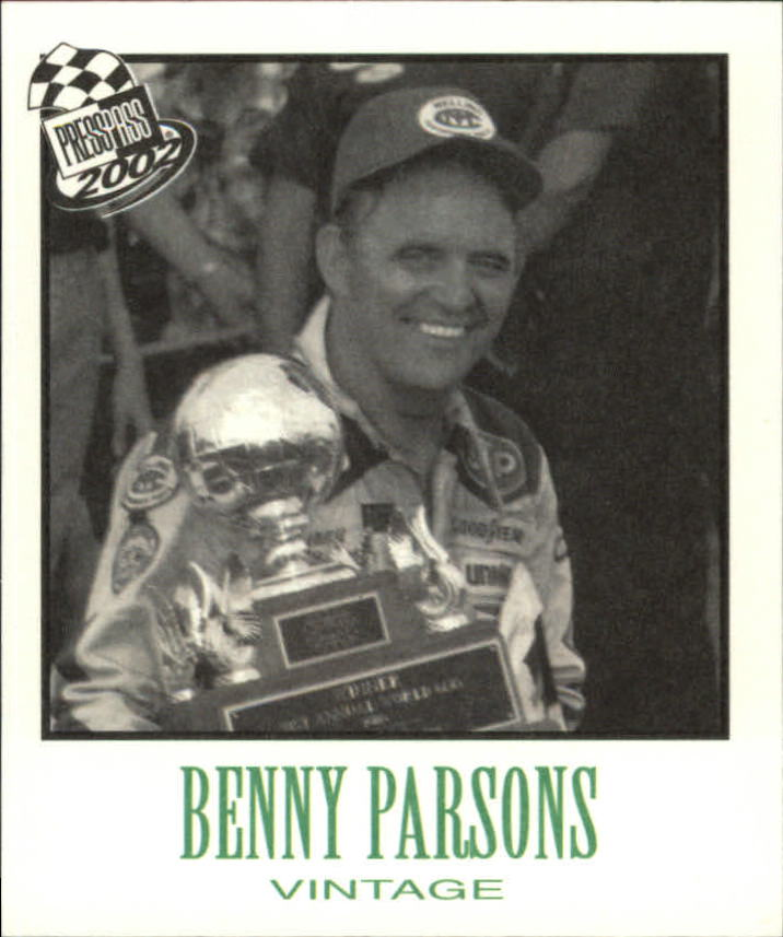 2002 Press Pass Vintage #VN32 Benny Parsons