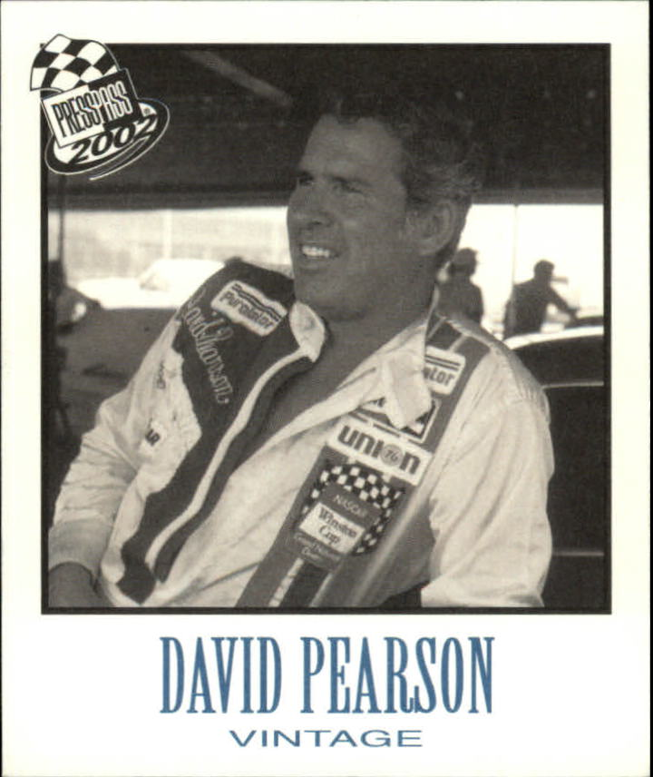 2002 Press Pass Vintage #VN33 David Pearson