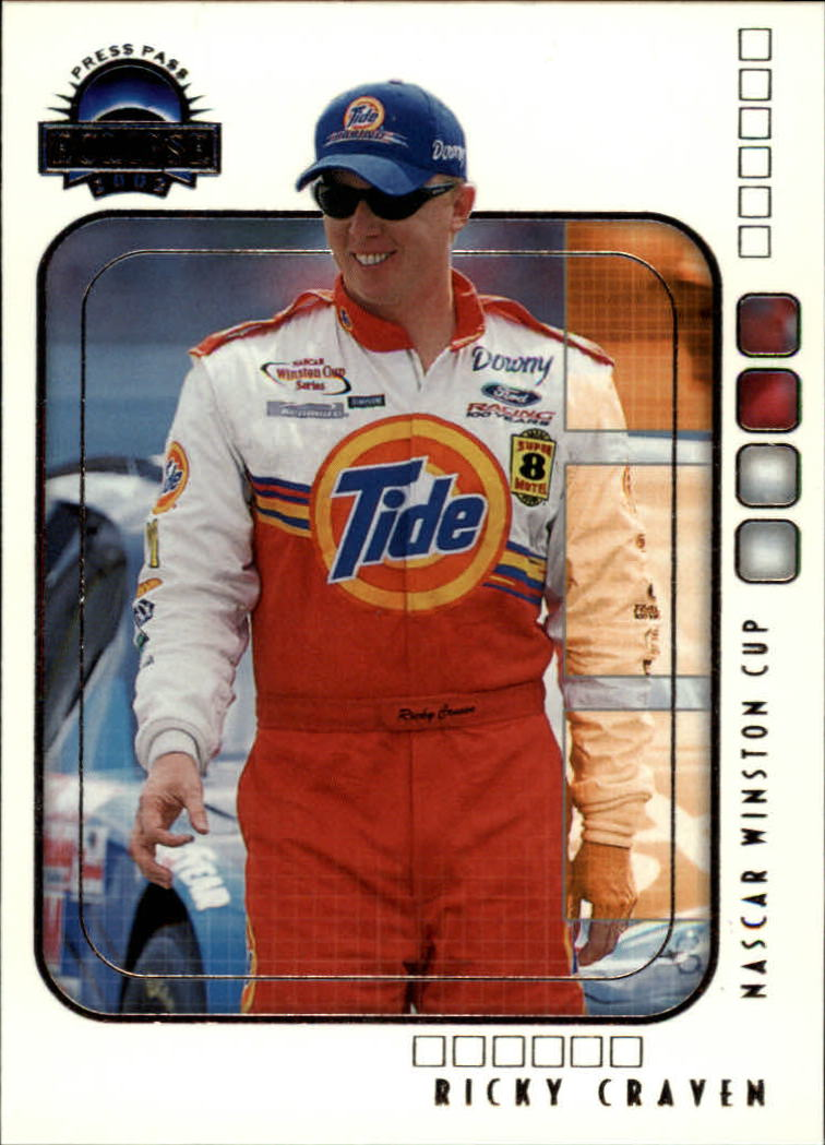 2002 Press Pass Eclipse #11 Ricky Craven