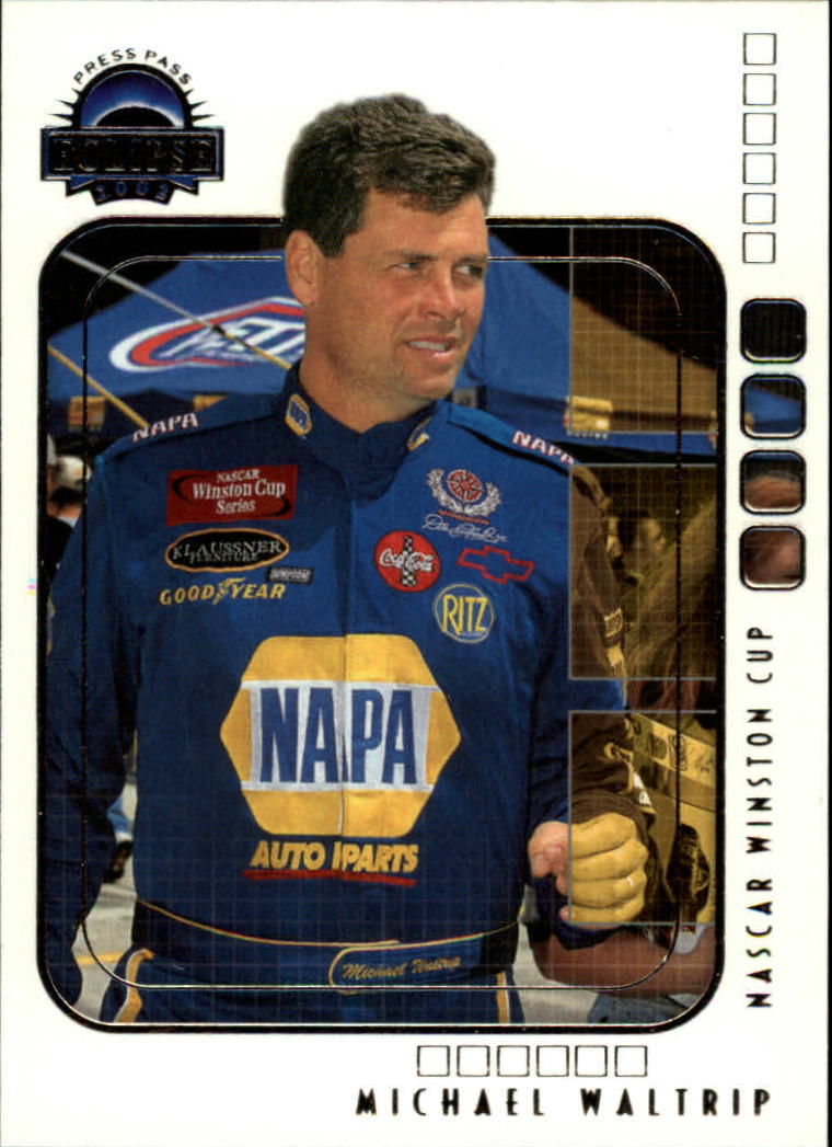 2002 Press Pass Eclipse #20 Michael Waltrip