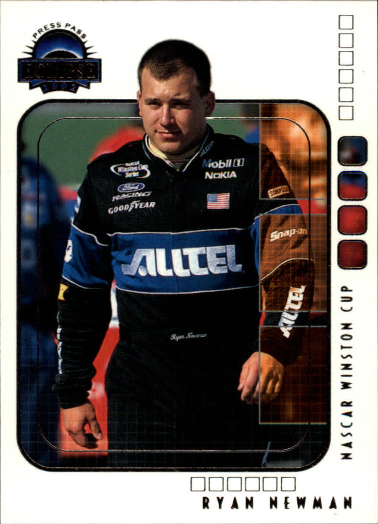 2002 Press Pass Eclipse #28 Ryan Newman CRC