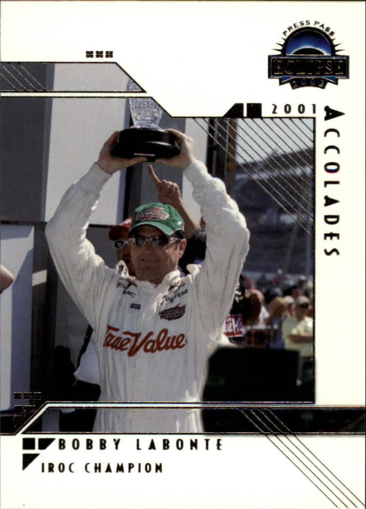 2002 Press Pass Eclipse #34 Bobby Labonte ACC