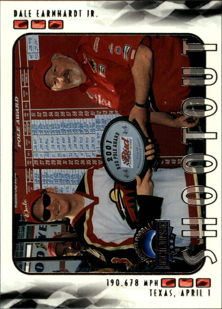 2002 Press Pass Eclipse #40 Dale Earnhardt Jr. SO