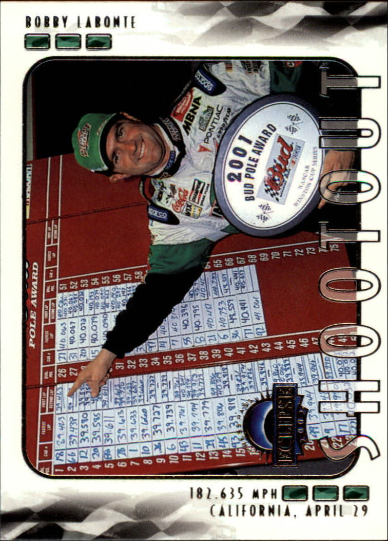 2002 Press Pass Eclipse #42 Bobby Labonte SO front image