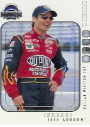 2002 Press Pass Eclipse Samples #1 Jeff Gordon