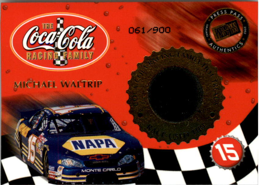 2002 Press Pass Hot Treads #HT34 M.Waltrip's Car/900