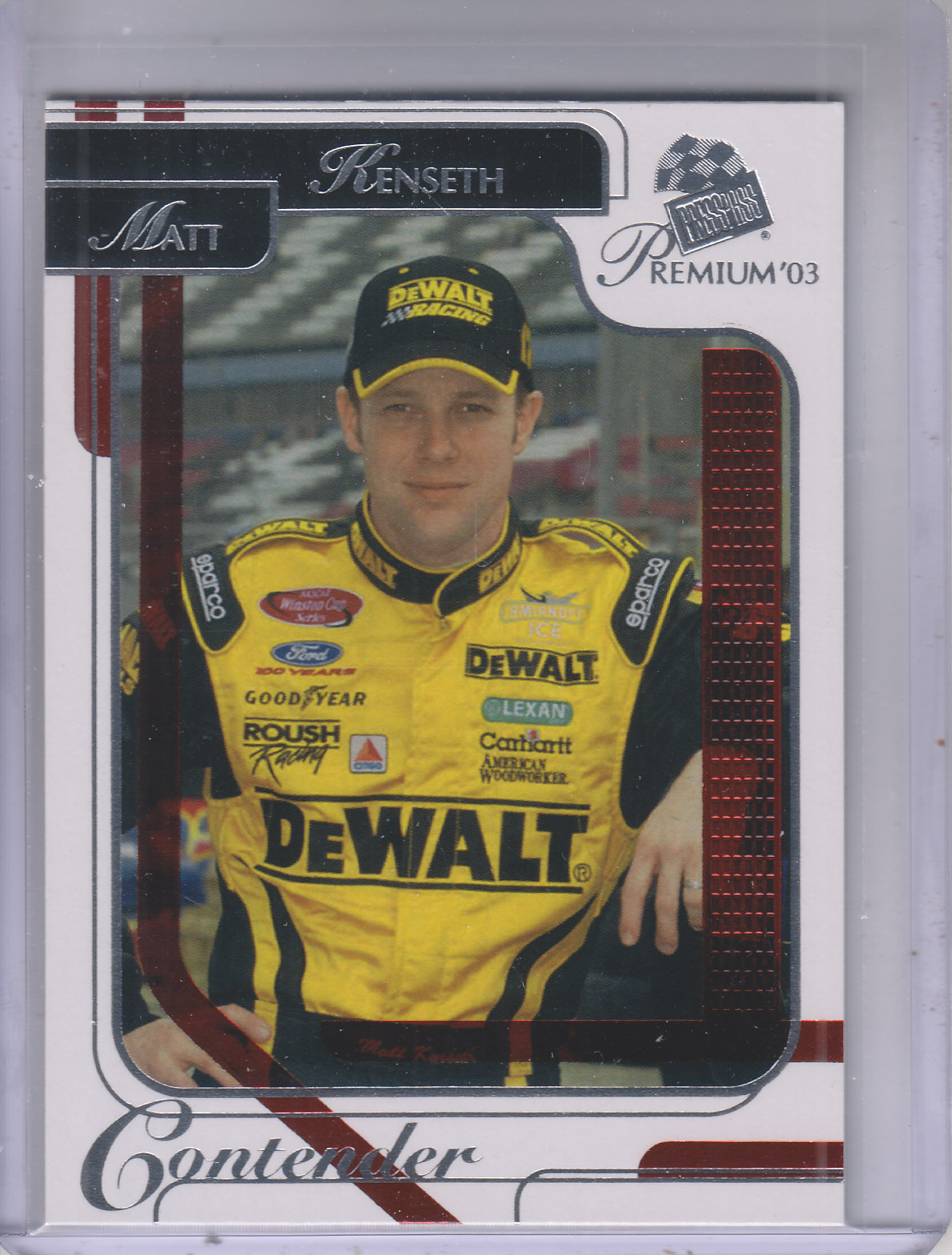 2003 Press Pass Premium Red Reflectors #14 Matt Kenseth