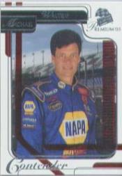 2003 Press Pass Premium Red Reflectors #30 Michael Waltrip