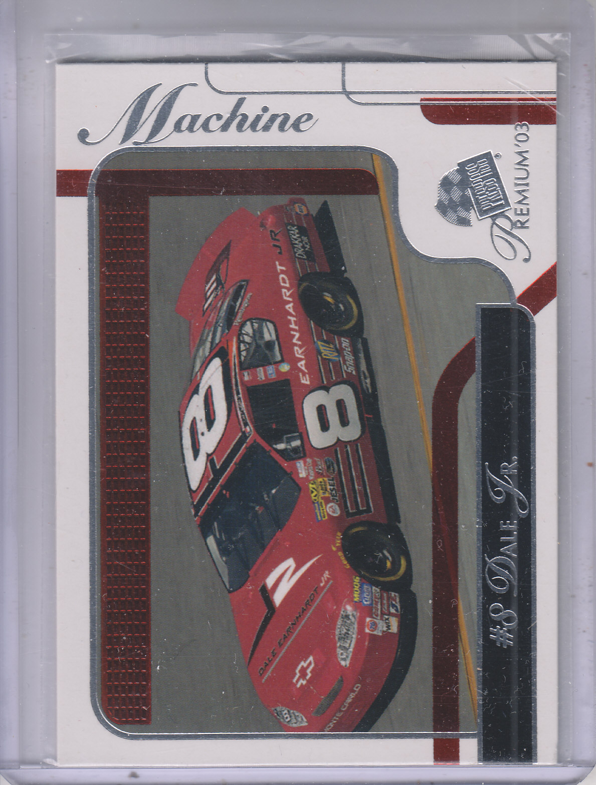 2003 Press Pass Premium Red Reflectors #36 Dale Earnhardt Jr.'s Car