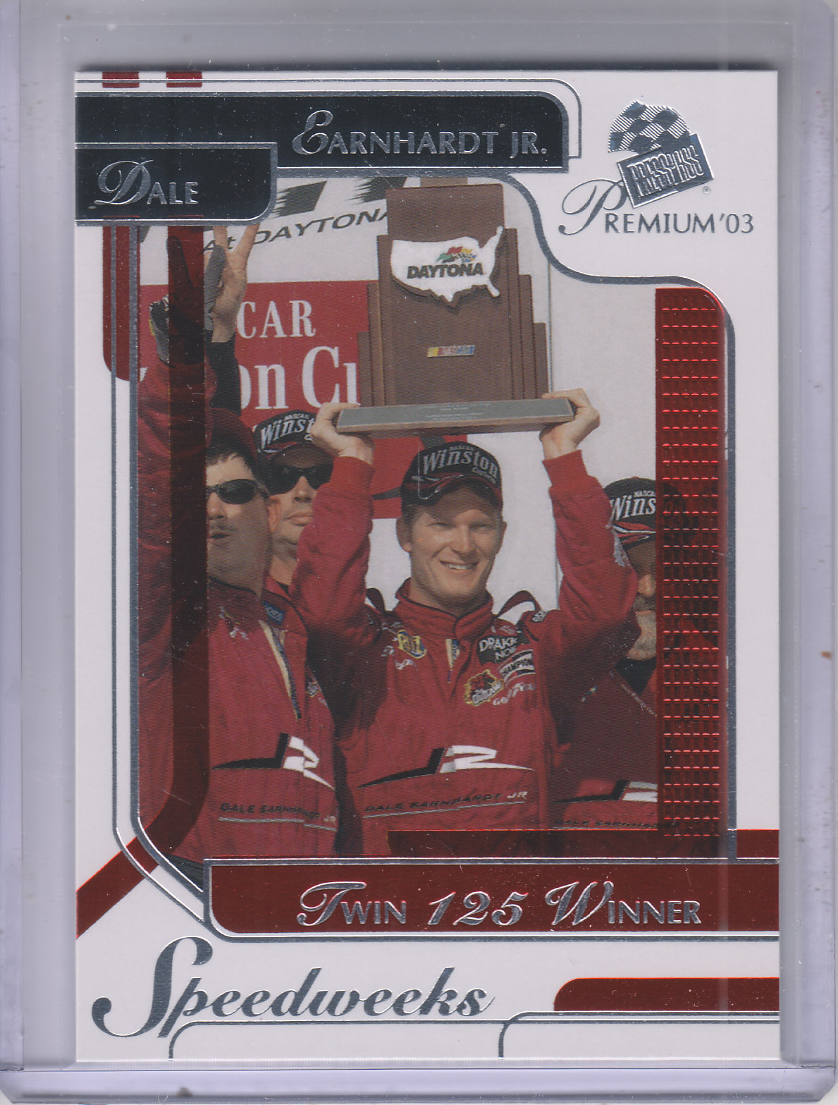 2003 Press Pass Premium Red Reflectors #46 Dale Earnhardt Jr.