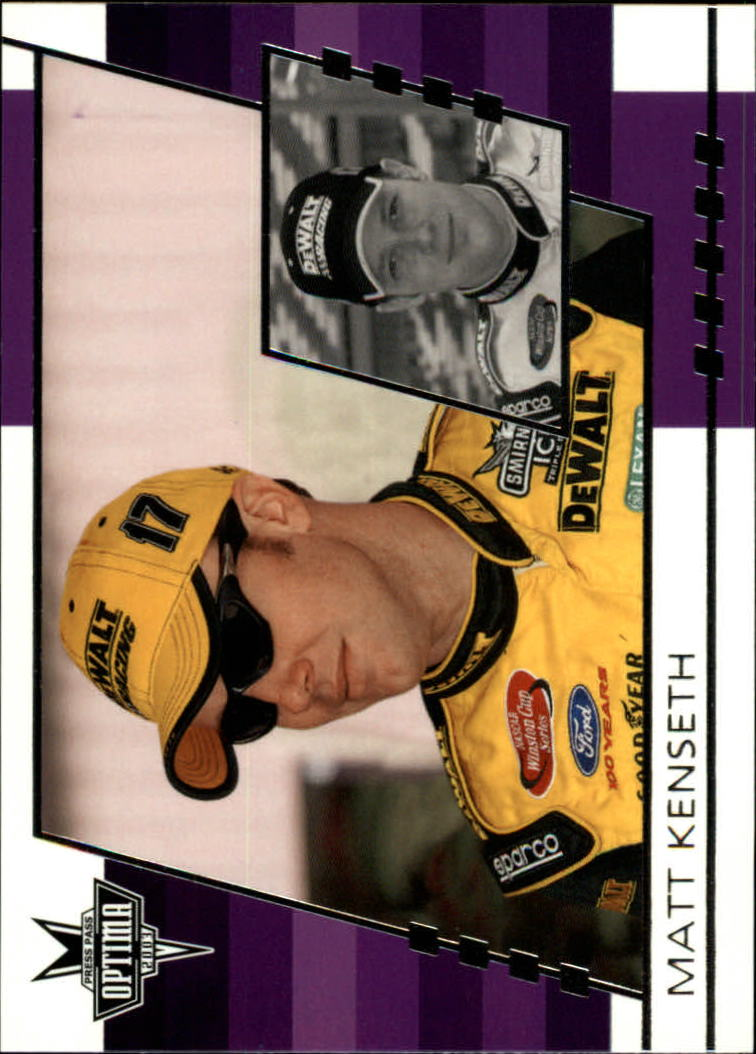2003 Press Pass Optima #12 Matt Kenseth