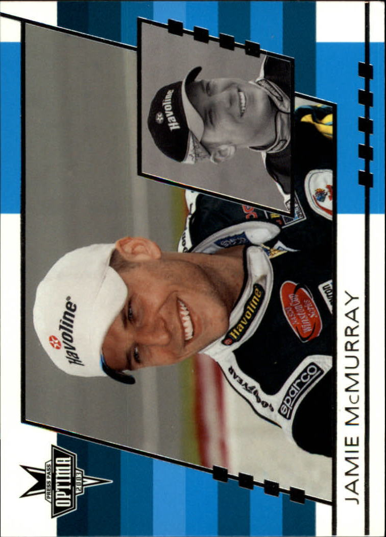 2003 Press Pass Optima #17 Jamie McMurray CRC