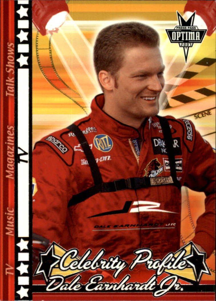 2003 Press Pass Optima #46 Dale Earnhardt Jr. TV