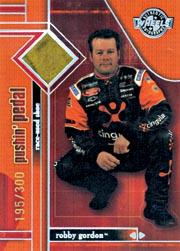 2003 Wheels American Thunder Pushin Pedal #PP3 Robby Gordon/300