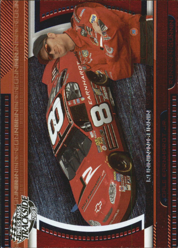 2003 Press Pass Trackside Runnin n' Gunnin #RG2 Dale Earnhardt, Jr.