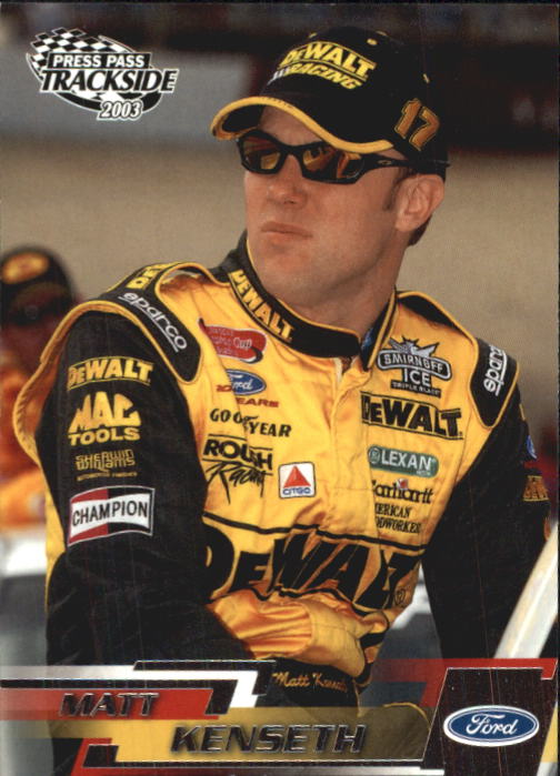 2003 Press Pass Trackside #5 Matt Kenseth