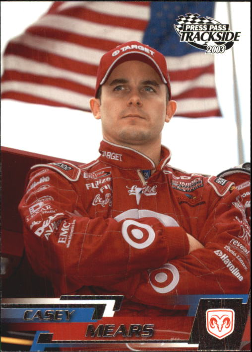 2003 Press Pass Trackside #15 Casey Mears CRC