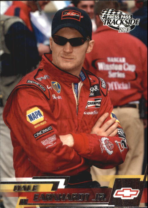 2003 Press Pass Trackside #19 Dale Earnhardt Jr.