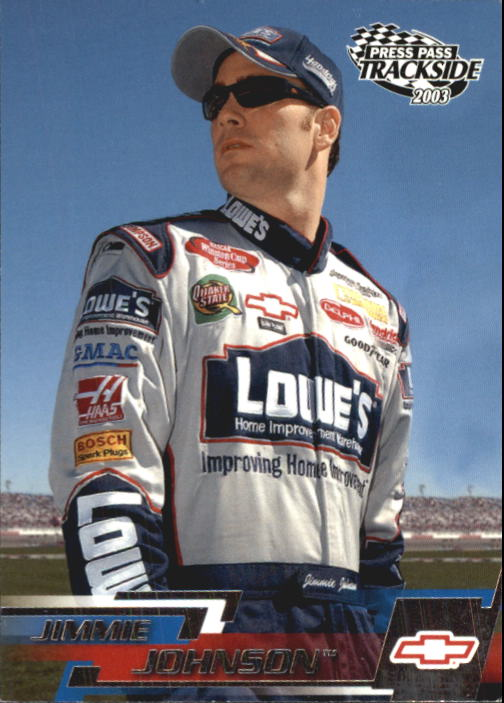 2003 Press Pass Trackside #24 Jimmie Johnson