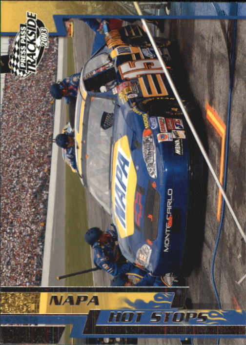 2003 Press Pass Trackside #65 Michael Waltrip in Pits