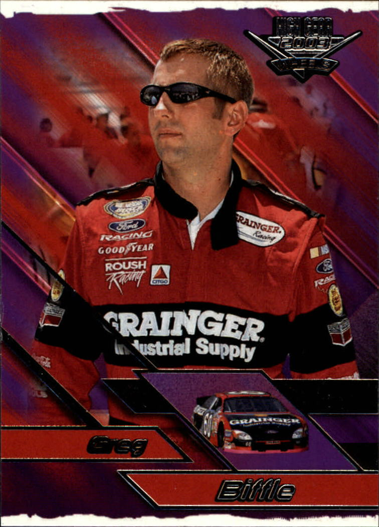 2003 Wheels High Gear #41 Greg Biffle CRC