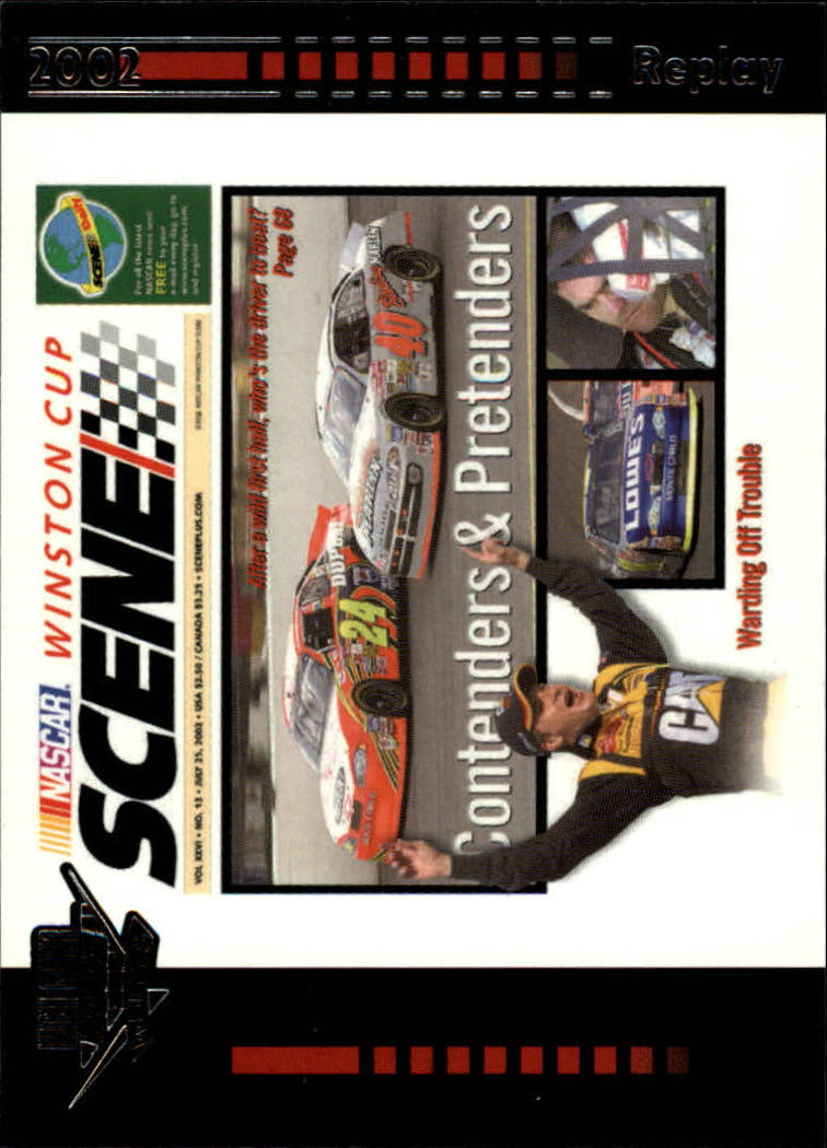 2003 Wheels High Gear #61 Contenders and Pretenders WCS