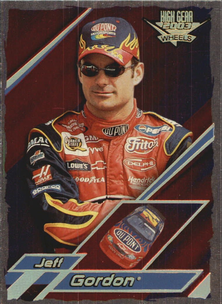 2003 Wheels High Gear First Gear #F10 Jeff Gordon