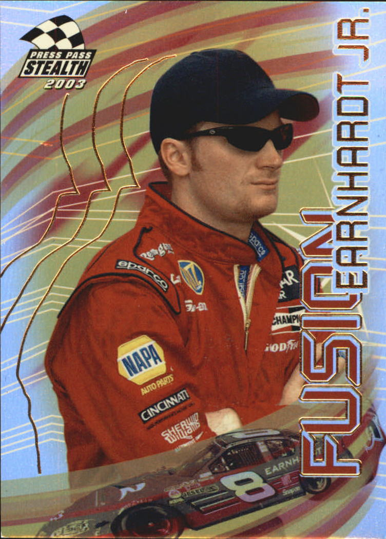 2003 Press Pass Stealth Fusion #FU3 Dale Earnhardt Jr.