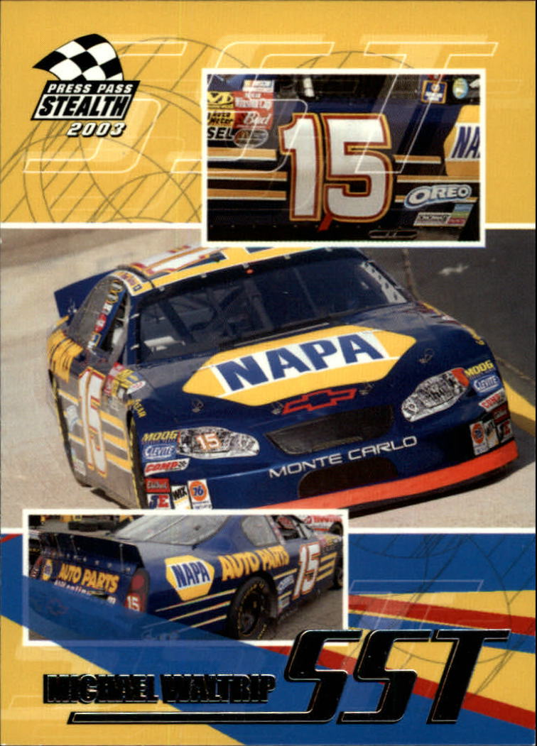 2003 Press Pass Stealth #59 Michael Waltrip SST